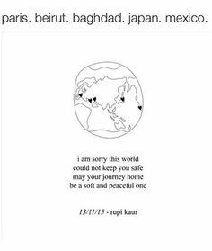 Im sorry world rupi kaur resistance words altavistaventures Images