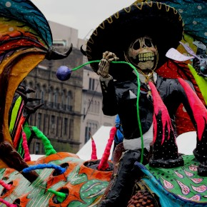Mexico's magical monsters… and the Trump alebrije that rocked it
